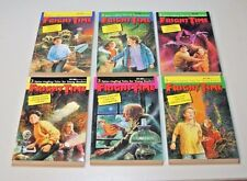 LOT OF SIX BOOKS - FRIGHT TIME - 3 SPINE-TINGLING TALES FOR YOUNG READERS - NOS