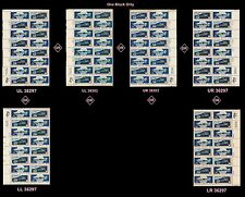 US 1569-1570 Space 10c plate block 16 MNH 1975