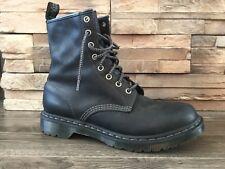 Dr Martens 1460 8 Eyelet Unisex Boots Black - Like New