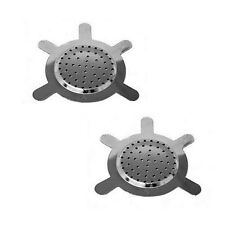 Two Metal Charcoal Screen for Shisha  Bowl Hookah pipe excellent quality