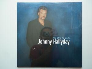Johnny Hallyday double 33Tours vinyle Ce Que Je Sais