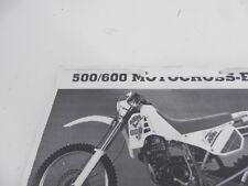 KTM 500 / 600 Motocross Bedienungsanleitung Handbuch Reparaturanleitung