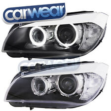 DEPO BMW E84 X1 -SERIES 10-14 LED ANGEL EYE'S DUAL PROJECTOR LOOK HEAD LIGHTS