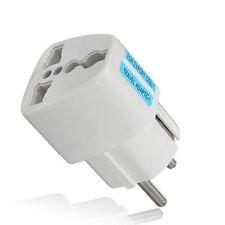 Universal AU UK US to EU Europe Power Adapter Converter Wall Plug Socket 10A