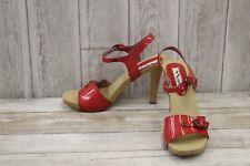 Nina Saffire Dress Sandal- Women's Size 8 M, Red