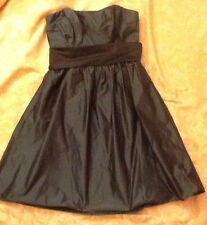 DESSY COLLECTION prom DRESS strapless BRIDESMAID Cocktail Green sz 12 NWoT