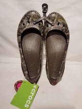 Crocs Women's Kadee Realtree Max-5 Flat Shoe NEW NWT Camo size 9