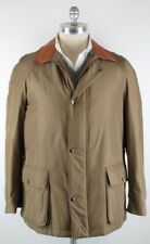 Imperfect $3600 Kiton Brown Jacket Size 38 (US) / 48 (EU)