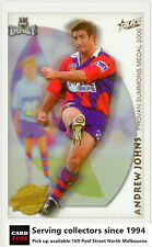 2001 Select NRL Impact Series Cards Accolades A5 Andrew johns-Knights