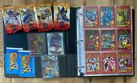 1995 Fleer Ultra X-Men, 1993 Sybox X-Men Series 2, Chase Cards, Empty Packs Lot