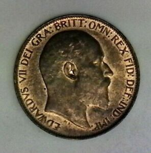 1909 Great Britain 1/2 Penny Very nice high end coin
