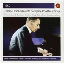 Sergei Rachmaninoff: Complete Rca Recordings, 0888430739222 * NEW *