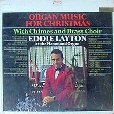 EDDIE LAYTON - ORGAN MUSIC FOR CHRISTMAS - EPIC LP