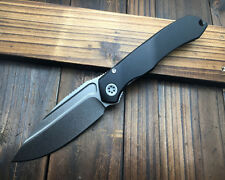 NEW All CNC aluminum alloy+Titanium handle D2 Blade Camping outdoors tools DF89