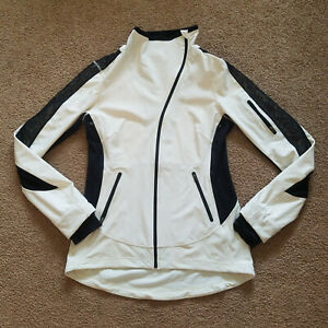 Lululemon Womens Size 8 Long Sleeve Ful Zip Athletic Jacket *Faint Stains*