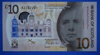 2016 Bank of Scotland Ten Pound £10 banknote POLYMER [19567]
