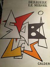 2 ( TWO )Original Calder Lithographs in Color ( Never Framed)