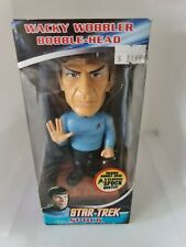 Spock Star Trek Wacky Wobbler Talking Bobblehead by FUNKO **RARE**