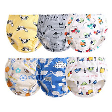 New listing Orinery Cotton Reusable Toddler Baby Training Pants 6-Pack 1-2T, Xt-B
