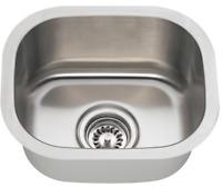 SGI Topmount Undermount Stainless Steel Single Double Bowl Kitchen Bar Sink Home
