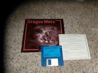 "Dragon Wars 3.5"" disk IBM PC Game with Manual"
