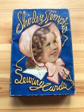 1936 Shirley Temple - Sewing Cards- Used