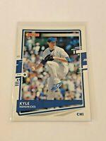 2020 Donruss Baseball Base Card - Kyle Hendricks - Chicago Cubs