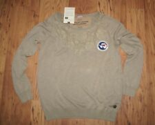 New with tags women's Napapijri boat neck Jumper Sweater  Large