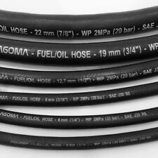 CAR FUEL RUBBER BRAIDED HOSE PIPE FUEL PETROL DIESEL UNLEADED INJECTION