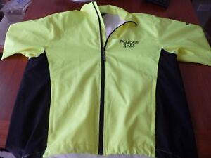 Backroads Gore-Tex neon Men's soft shell cycling jacket