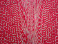 Designers Guild Fabric ~ 'Pearls' 2.3 METRES Scarlet 100% Cotton ~ Belles Rives