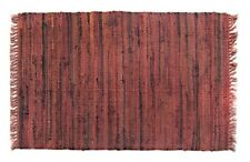 "Southwest Decor Rag Rug Runner, 24"" x 72"", 100% Cotton, Sturbridge, Spice"