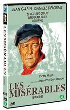 Les Miserables (1958) - Jean Gabin 2-Disc DVD *NEW