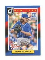 2014 Donruss The Rookies #74 Jacob DeGrom New York Mets rookie card