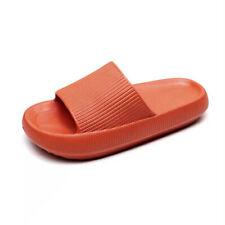 Women Indoor Slippers Thick Platform Bathroom Slipper Soft Anti-slip Home Slides