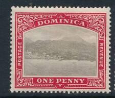 DOMINICA, 1903 1d wmk Crown CC fine light MM, SG28, cat £17