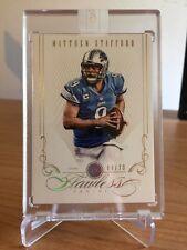 2014 Panini Flawless Matthew Stafford Diamond Detroit Lions 04/20 Card Sealed