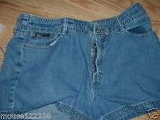 LEI Blue Denim Shorts size 11    Drawstring