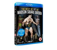 Official WWE - The Best of WWE At Madison Square Garden Blu-Ray - 2 disc