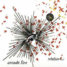 ARCADE FIRE REBELLION LIES BRAZIL 2 TRACK CD SINGLE 2005 ROUGH TRADE IMPORT OOP