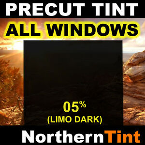 Precut All Window Film for Acura TSX 03-08 05% Limo Tint