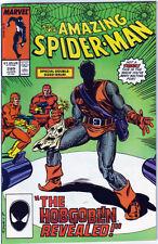 Amazing Spider-Man 289, Hobgoblin revealed, death of Ned Leeds, NM