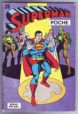 ! SUPERMAN POCHE N°28 en BON ETAT / TRES BON ETAT !