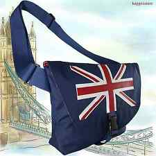 UK Flag Union Jack Casual Messenger School Shoulder Book I Pad Hold Bag England