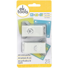 Sentiment Mini Corner Rounder Punches 2/Pkg by EK Success