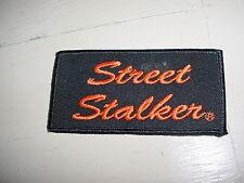 Harley Davidson Biker Jacket Vest Patch Street Stalker
