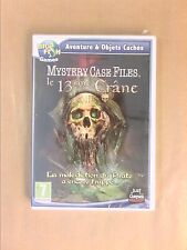 JEU PC CD ROM / AVENTURES & OBJETS CACHES / LE 13EME CRANE / MYSTERY CASE FILES