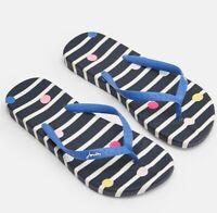 Joules Flip Flops (Navy Stripe)