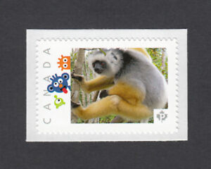 LEMUR = DIADEMED SIFAKA = Picture Postage stamp MNH Canada 2014  [p5w4/1]