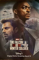 The Falcon And The Winter Soldier  27x40 D/S 1 Sheet Movie Poster Marvel Disney+
